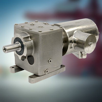 RVS motorreductor